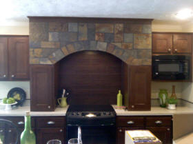 Natural Slate Kitchen Arch