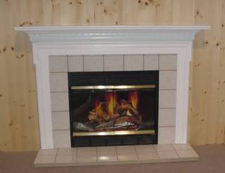 Marmol Frost Insert With Tile Hearth